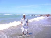 На берегу Тирренского моря в 40 минутах езды от Рима.