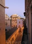 Валенсия.Вид из окна хостела