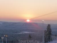 Невероятно красивый восход