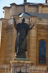 Прижизненный памятник Папе Ионанну Павлу 2