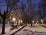 Вечерние прогулки в центре . создающие ощущение наступающих  праздников