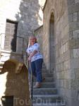 На ступенях монастыря Богородицы в Филириме