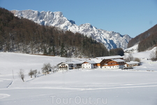 Покрытые снегом горы-это невероятной красоты зрелище!