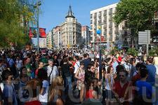 гей-парад, Барселона, сбор