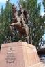 Памятник графу Воронцову - грозно так, впечатляет...