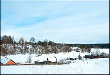 Каменная церковь в с.Пидьма на правом берегу Свири между Вознесеньем и Подпорожьем
