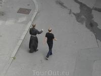 попался по пути сам монах-францисканер))) пиво именно в их честь названо