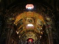 Плафон монастыря