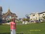 Я на фоне храмов