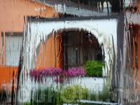 Дождливо, но красиво, мне даже понравились хорватские дожди!