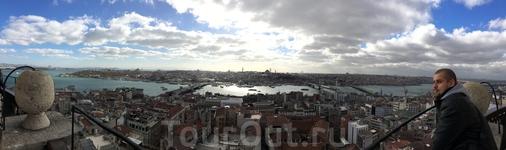 Панорамный вид с Галацкой башни
