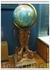 Глобус, на котором отмечены страны, в которых побывал Юрий Алексеевич с визитами.