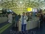 В аэропорту пересадки  Абу-Даби (ОАР)