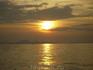закат сиамского залива