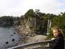 Один из немногих водопадов в мире, которые впадают прямо в море - наверное, когда прилив так оно и есть)))