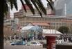 Площадь в центре города. Напротив музея Африки.