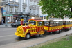 Можно и на таком транспорте на экскурсию по Львову