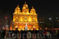 новогодний собор Святого Иосифа
