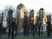 Православный собор в Риге - весна