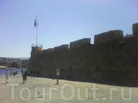 крепостная стена в г.Ханья.