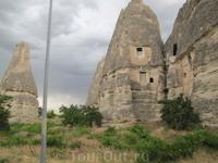Гёреме- музей под открытым небом с обалденными скалами и храмами в скалах