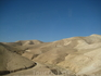 Безликие пейзажи по пути на Мертвое море