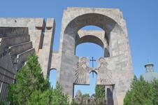 Эчмиадзин - прежнее название которого Вагаршапат, - основан в первой половине II века на месте древнего поселения Вардгесаван. С 163 года, после разрушения ...