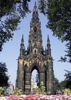 Фотография Памятник Вальтеру Скотту в Эдинбурге