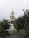 Покидая райончик Ратуши наткнулись на церковь