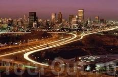 Вечерний Йоханнесбург.