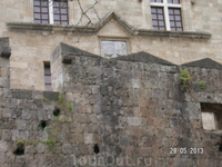Крепость. Фрагменты Дворца Великих Магистров