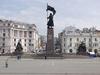 Фотография Площадь и памятник Борцам за Власть Советов на Дальнем Востоке