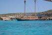 Fernandez II .. на чем мы приплыли к Голубой лагуне..
