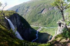 Тот самый водопад необычайной красоты и силы.