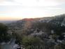 вид на Альпий на закате