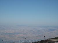 вид с вулкана Этна