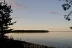 Рассвет на озере.