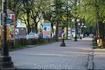 На остановке Зеленоградска. В ожидании автобуса до Калининграда