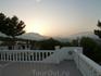Закат над Бенидормом
