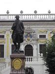 Памятник Иоганну Вольфгану Гете