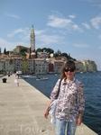 Ровинь - истрийский город рыбаков - расположенный на высоком холме, с живописными улочками, и старинными дворцами. Это набережная города, почти Венеция ...