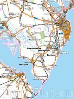 Грибовка на карте