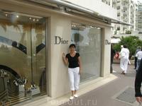 Шикарные магазины на Набережной Канн
