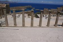 Добро пожаловать, в Древнюю Грецию! Акрополь Линдоса