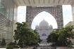 Внутренний дворик в мечети