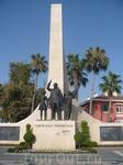 В Алании какой-то памятник
