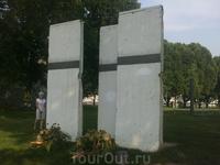 Обломки Берлинской стены