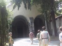 Регенсбург. В прошлом Бенедиктинский монастырь Св. Эммерама, сегодня  дворец семейства Турн-унд-Таксис. Вход в храм монастыря  Св. Эммерама