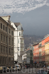 Что тут предмет, а что антураж - Инсбрук или горы?