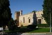 Левая часть дворца.